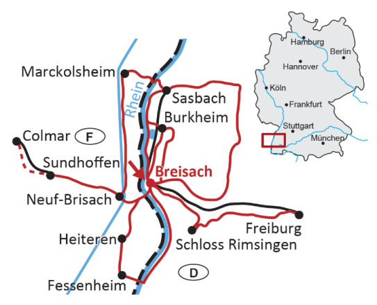 Sternradtour Im Elsass Und Am Rhein Ab Breisach 7 übernachtungen Buchen