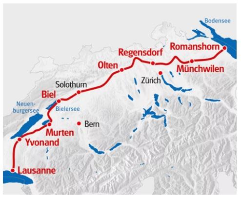 Schweizer Mittelland Radreise Vom Bodensee Zum Genfersee 8 Ubernachtungen Buchen