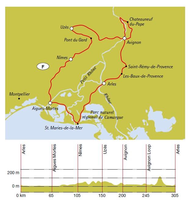 Camargue Karte.Provence Und Camargue Rundreise Ab Arles 7 übernachtungen Buchen