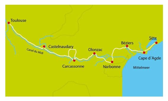 C Du Midi Map on
