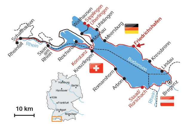Bodensee Radweg Ab Friedrichshafen 6 Ubernachtungen Jubilaumstour