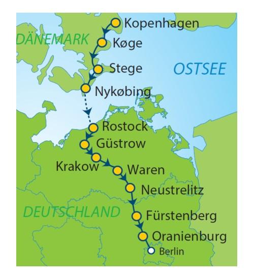 kopenhagen berlin flug: