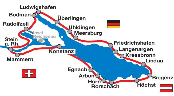 Bodenseeradweg Ab Konstanz 6 Ubernachtungen 6 Radetappen Buchen
