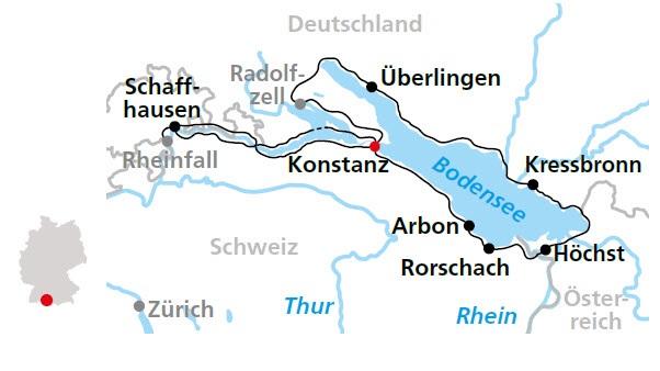 Bodensee Radweg Ab Konstanz 7 Ubernachtungen Buchen